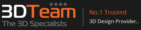 official business logo of 3D Team Australia