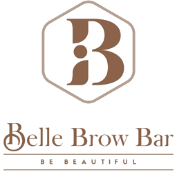 official business logo of Belle Brow Bar