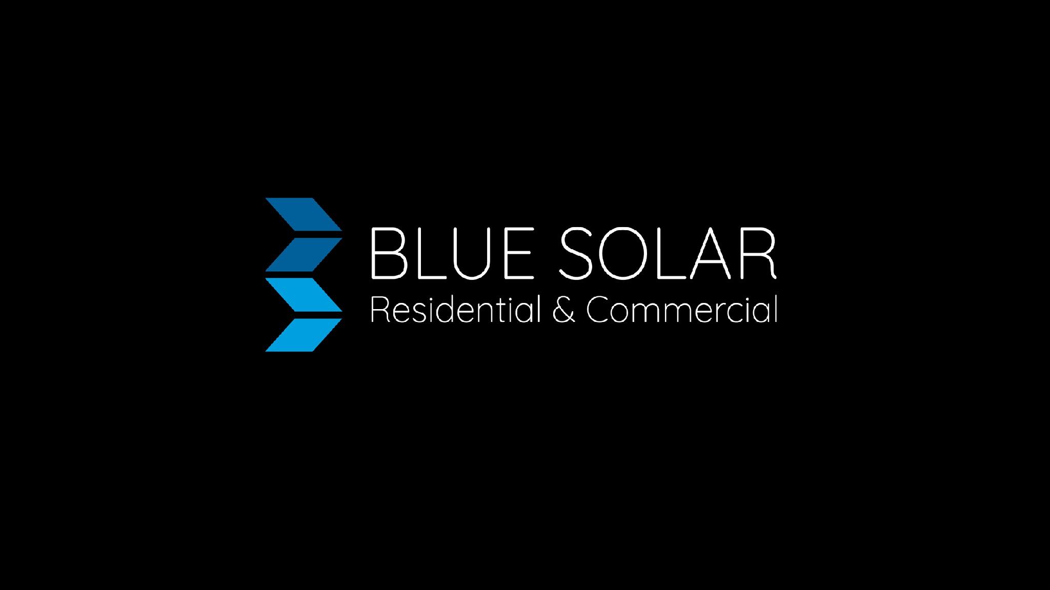 official business logo of Blue Solar Pty Ltd