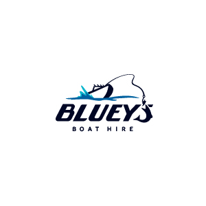 official business logo of Bluey's Boathouse