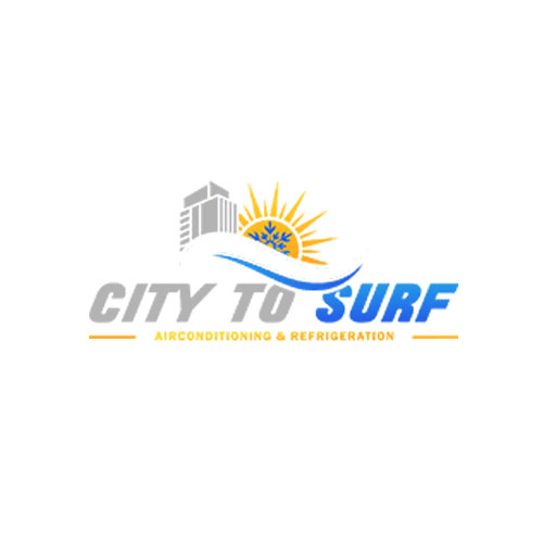 official business logo of City to Surf Airconditioning & Refrigeration