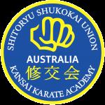 official business logo of kansai karate