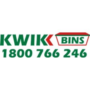 official business logo of Kwik Bins