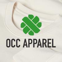 official business logo of OCC Apparel