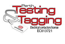 official business logo of Perth Testing and Tagging
