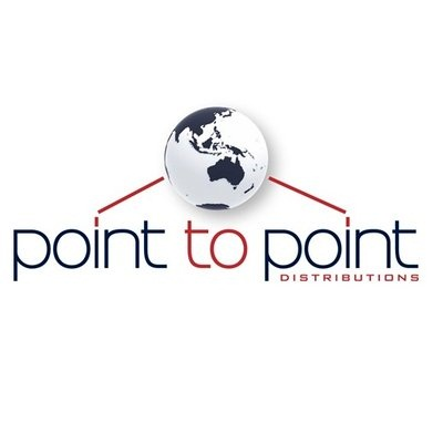 official business logo of Point to Point Distributions