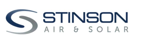 official business logo of Stinson Air and Solar