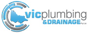 official business logo of Vic Plumbing and Drainage